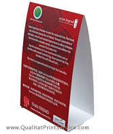 Brampton Custom Table Tents